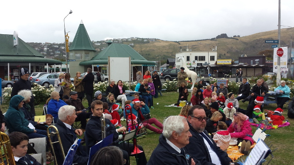 Audience freezing in a Southerly wind